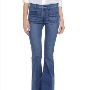 Hudson high waist jeans, flare size 30